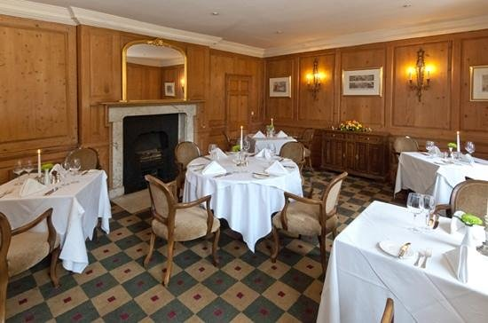 Restaurant at Menzies Flitwick Manor:                   morning room