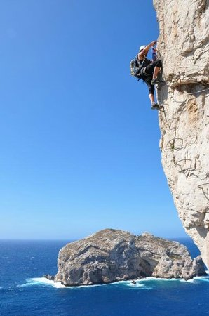 Alghero Rock Climbing Sites:                   La Ferrata di Capo Caccia