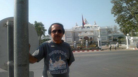 Presidential Palace:                                     A view from the road divider