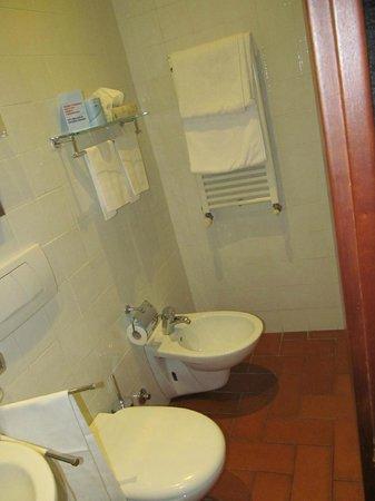 Bathroom in Hotel Caravaggio