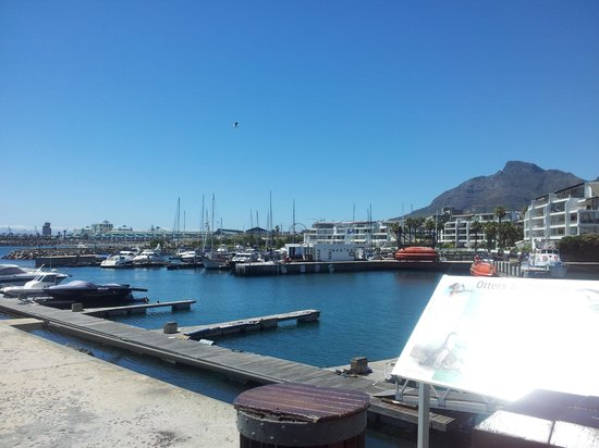 Radisson Blu Hotel Waterfront, Cape Town:                   View to the V&A Waterfront