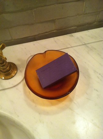 Greenwich Hotel:                                     Red Flower soap!  Smelled amazing!