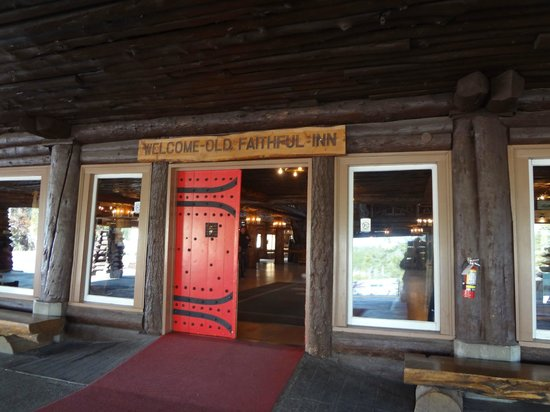 Old Faithful Inn:                   Entrance Doors