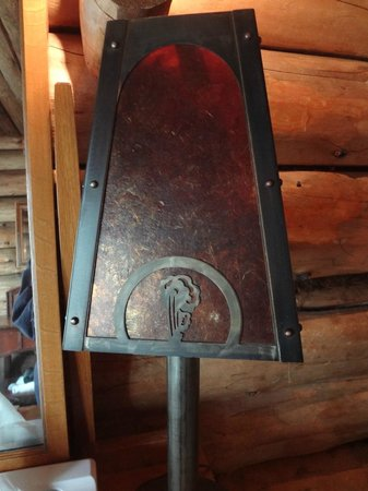 Old Faithful Inn:                   Lamp