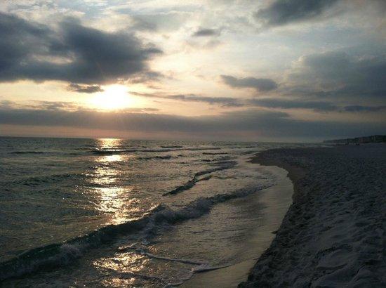 Hampton Inn Ft. Walton Beach:                   Sunset on Ft. Walton Beach