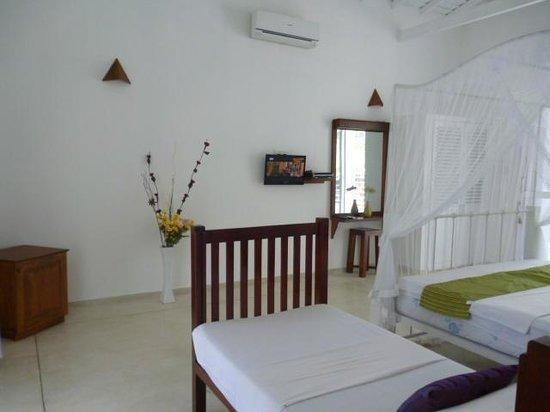 Beach Grove Villas:                   Spacious bedroom in Villa