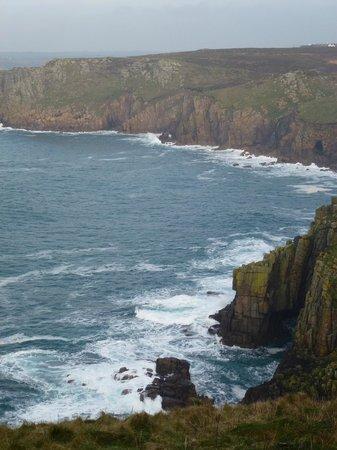 The Relentless Sea:                   Beautiful landscape