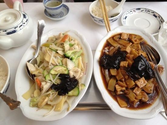 China-Restaurant Mandarin:                   main courses
