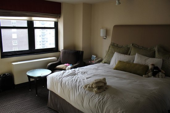 Dumont NYC–an Affinia hotel:                   literie de qualité