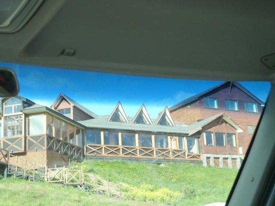 Weskar Patagonian Lodge:                   vue prise depuis le lac