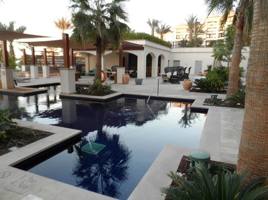 The St. Regis Saadiyat Island Resort:                   Adult pool area
