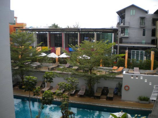 Buri Tara Resort: view from the room