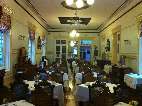 Grande Hotel de Paris: parte del comedor