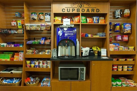Candlewood Suites Dallas-By the Galleria: Renovated Candlewood Cupboard