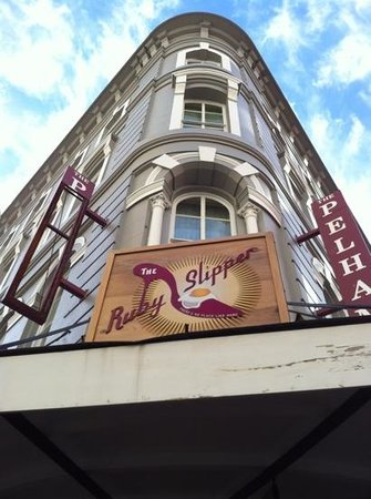 The Pelham:                   the Pelhan hotel and the Ruby Slipper