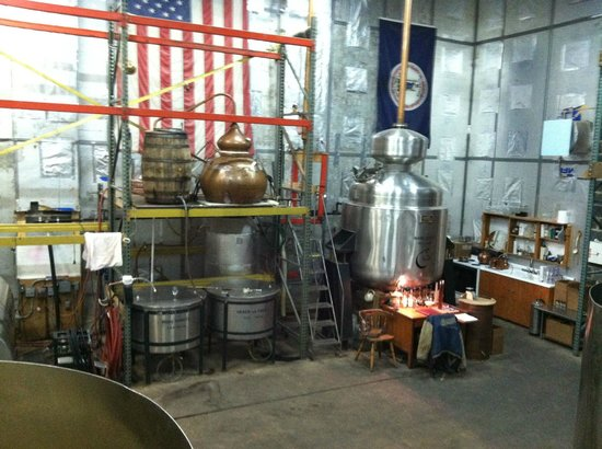 Copper Fox Distillery: Stills
