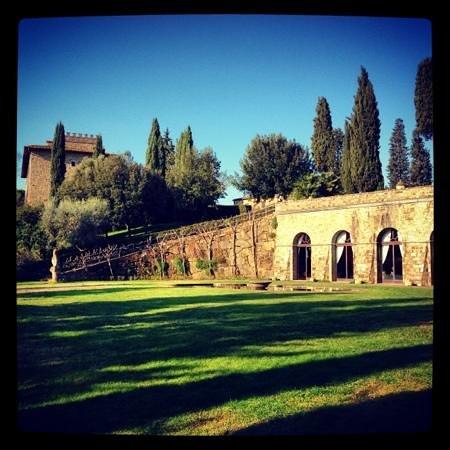 Barberino Val d'Elsa, Italy:                   Castello di Monsanto