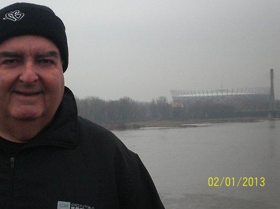 Hetman Hotel :                   Vistula river (Wisla, as we call it in Polish