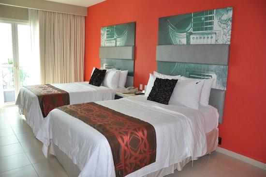 Hard Rock Hotel Vallarta:                   Junior Suite - 2 Double Beds