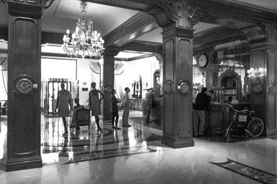 Aldrovandi Villa Borghese:                   entrée