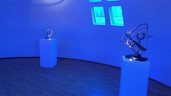 Reykjavik Art Museum Asmundarsafn:                   Inside the dome