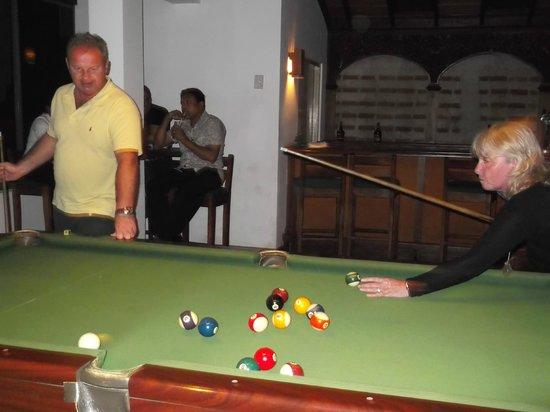 Hotel Mermaid & Club:                   Pool Room (Air conditioned)