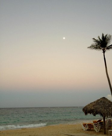 Iberostar Grand Hotel Bavaro:                   beach at dusk