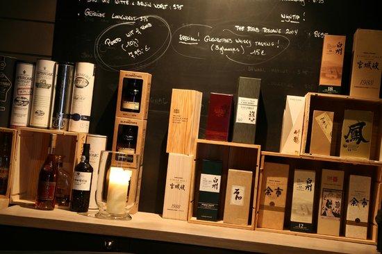 Grill De Vette Os: grote keuze uit Whisky's