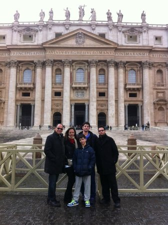 Rome For Jews :                   Vatican Tour