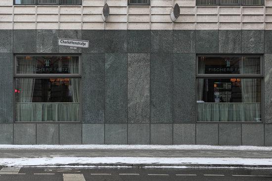 Fischers Fritz: Vue de l'extérieur ... en hiver
