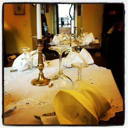 Antica Osteria Il Malatesta:                   la tavola