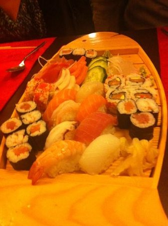 Jin Feng:                   Barchetta Sushi
