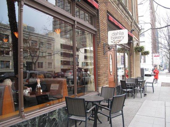 Hotel Andra:                   The Hotel's Dahlia Bakery