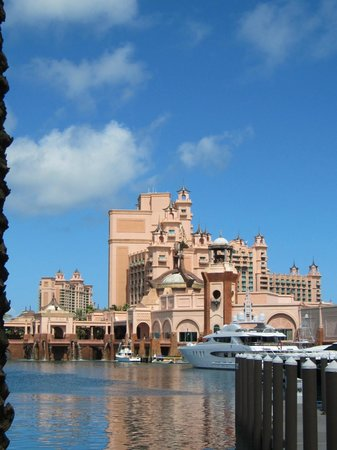 Atlantis, Royal Towers, Autograph Collection:                                     View from boat ride
