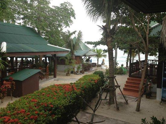 Lamai Coconut Beach Resort:                   Från rummet.