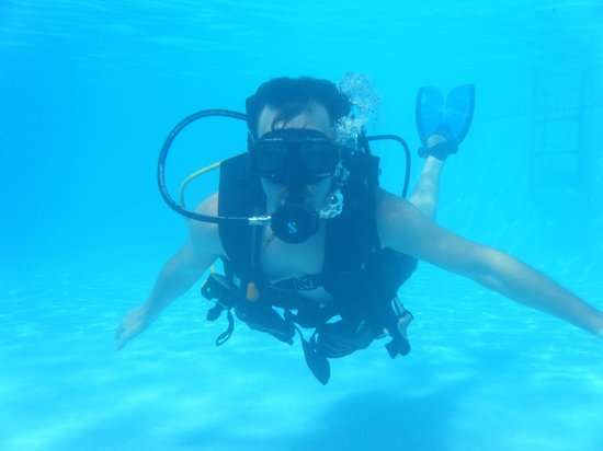Vista Sol Punta Cana:                                     Scuba Diving in the pool
