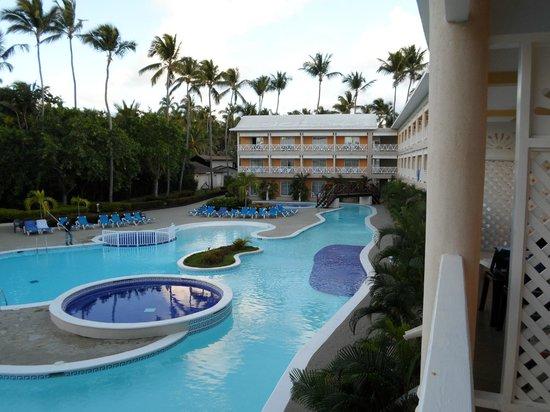 Vista Sol Punta Cana:                                     View from balcony 10 block rooms