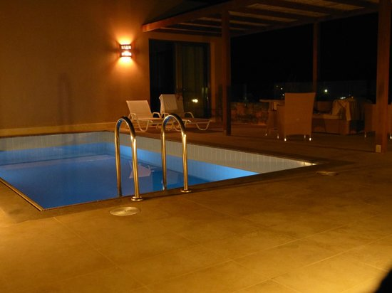 Daios Cove Luxury Resort & Villas:                   Privat-Pool