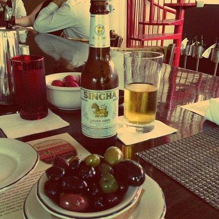 Miami Design District: Cerveza tailandesa