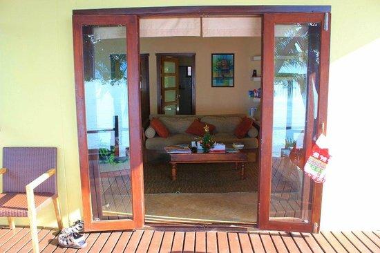 Villa Tanamera:                   Beach Front Villa - Living Room