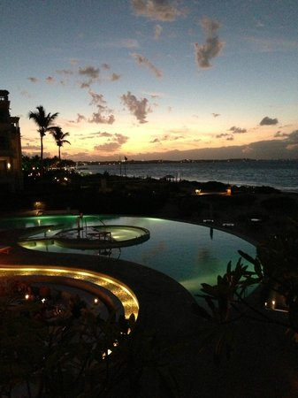 The Regent Palms:                   View from 3 Bedroom Suite