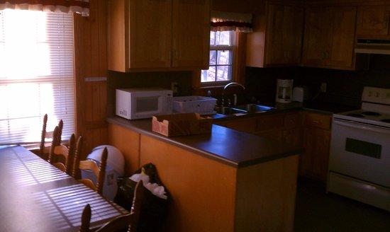 F. D. Roosevelt State Park Cottages:                                     Cabin 12 Kitchen
