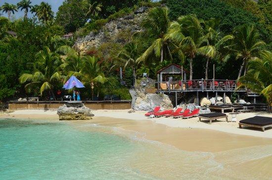 La Toubana Hotel & Spa:                   une partie de la plage