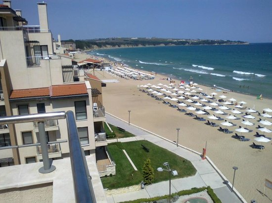 Obzor Beach Resort: View from our terrace