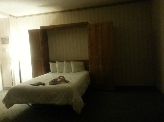 LaGuardia Plaza Hotel - New York:                   Murphy bed in room 260