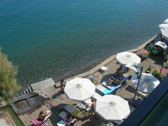 Kos Aktis Art Hotel: Piattaforma attrezzata