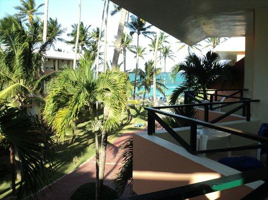 Barcelo Dominican Beach:                   ¿Ésto es habitación con vista al mar...?