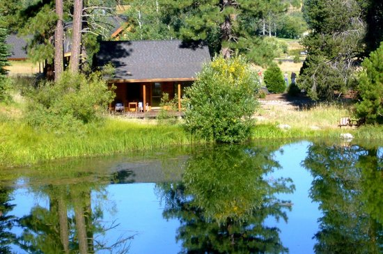 "Lodge at Whitehawk: View of ""On the Pond"" Cabin #1"