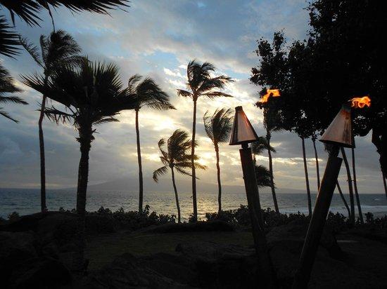 Hyatt Regency Maui Resort and Spa:                   View from Japengo restaurant                 
