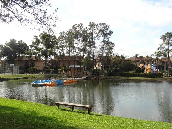 Liki Tiki Village:                   lago